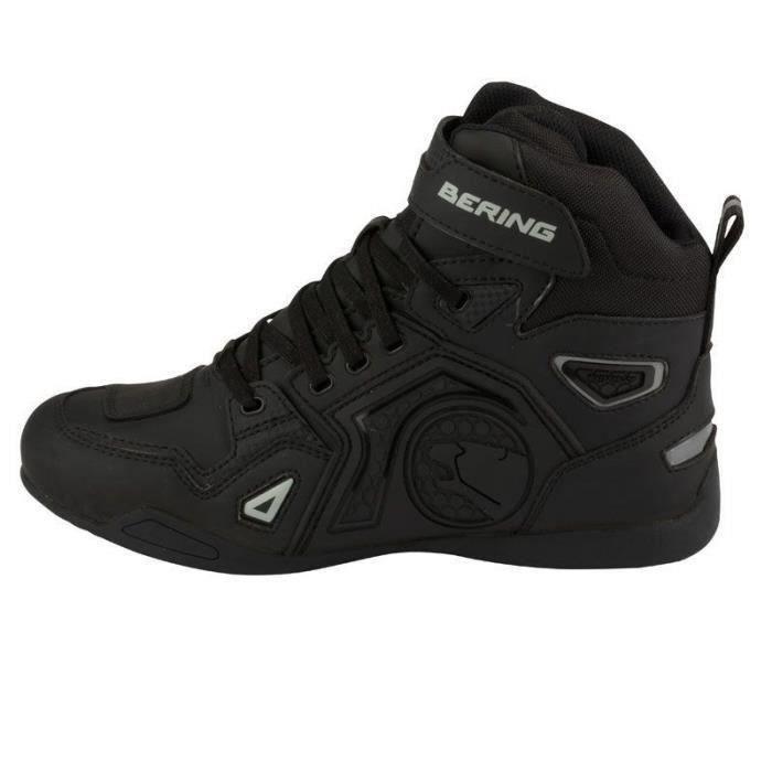 BERING Chaussures moto Horace - Homme - Noir et gris
