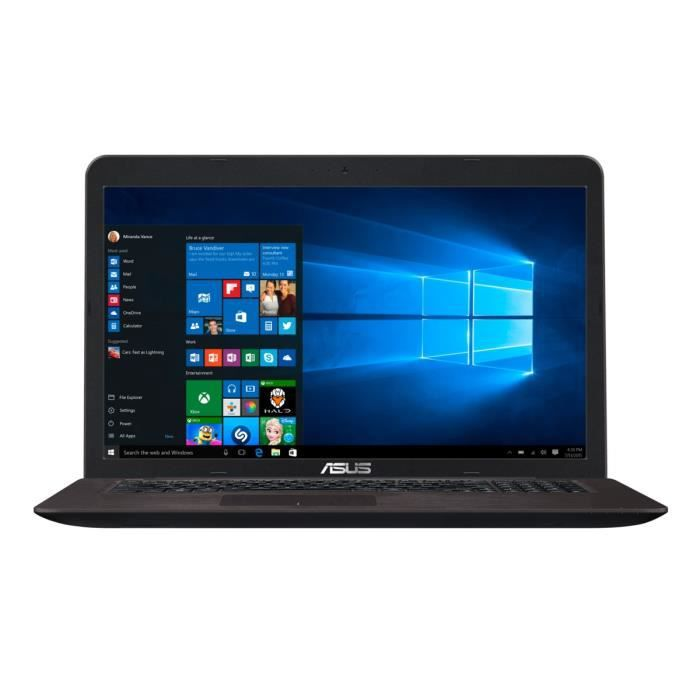 asus pc portable x756uj ty098t 17 3 windows 10 ordinateurpascher. Black Bedroom Furniture Sets. Home Design Ideas