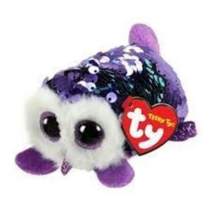 PELUCHE Peluche EH9WV NEW Teeny Ty's Flippable MOONLIGHT,