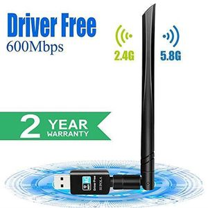 CLE WIFI - 3G SUPOLA USB WiFi Adaptateur AC600Mbps Driver Free-A