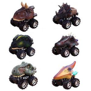 ACCESSOIRE VEHICULE Jouet Voiture Dinosaures, 6 Pièces Miniature Vehic