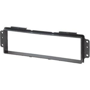 Adaptateur Autoradio Fa/çade Cadre R/éducteur Noir 1DIN pour Auto Voiture C40981 AERZETIX