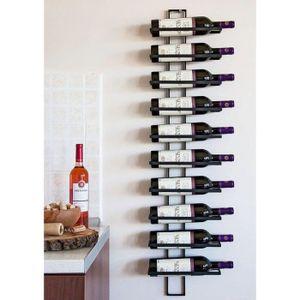 PORTE-BOUTEILLE DanDiBo Casier à vin Etagère murale Dies 116cm en
