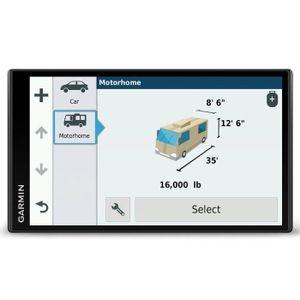 GPS AUTO Garmin Camper 770 LMT-D - Camping Car GPS + Caméra