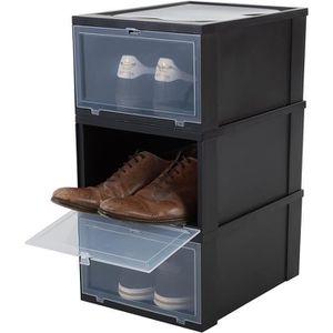 BOITE DE RANGEMENT Iris Ohyama, lot de 3 boîtes à chaussures - boîtes