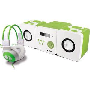 RADIO CD CASSETTE Ensemble Gulli chaîne radio CD USB et casque pour