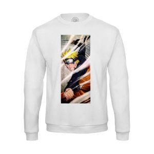 T-SHIRT Sweat-shirt Homme uzumaki naruto ninja kunai manga