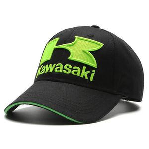 CASQUETTE KAWASAKI noir Populaire Chapeau Racing Sports Cool