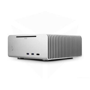 BOITIER PC  Streacom ST-FC8S Alpha Optical Fanless HTPC Alu-Ge