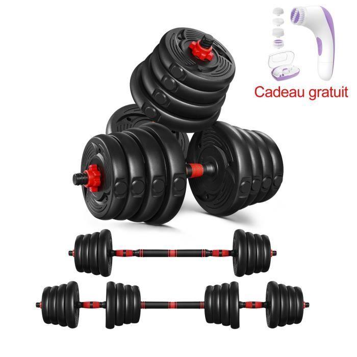 Kit Haltères 30kg - musculation réglables – poids musculation