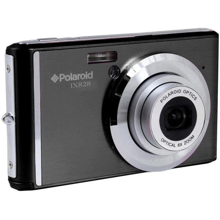 Polaroid IX828N-BLK-INT Appareil Photo numérique 20 Mpix Noir