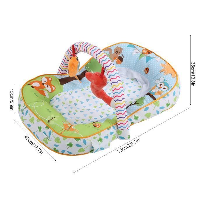 Tapis rampant pour bébé Koty Tapis de Jeu de Bébé Tapis de Fitness Rampant de Bébé avec Jouets Accessoire HB013