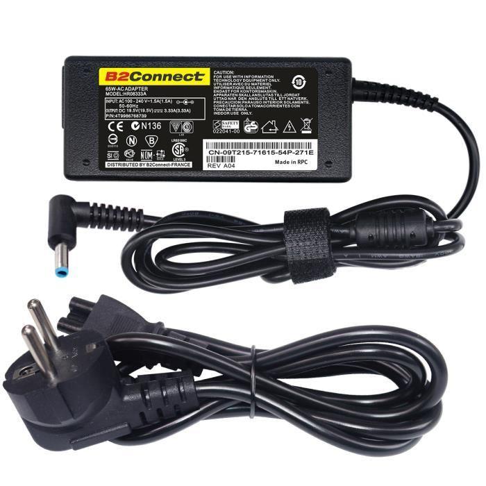 19.5V 3.33A Chargeur adaptateur Pour HP Envy 15 Series 15Z-J100