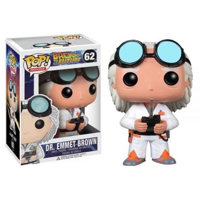 Figurine Funko Pop! Retour vers le Futur: Dr. Emmet Brown