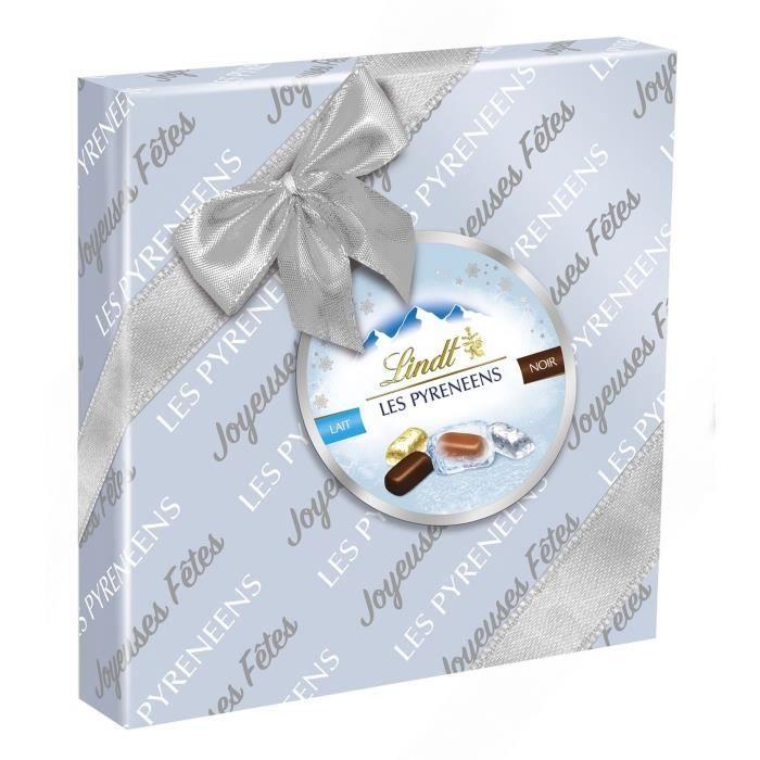 LINDT Boîte Cadeau Pyrénéens Chocolat Assorti - 204 g