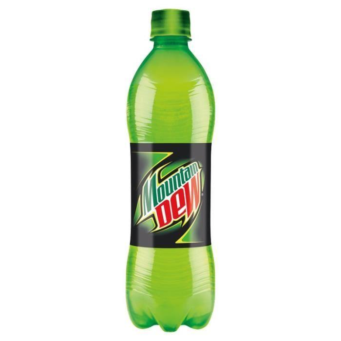 Mountain Dew - Mountain Dew Citron 50cl (pack de 24)
