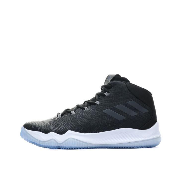 Crazy Hustle Chaussures Basketball Noir Homme Adidas