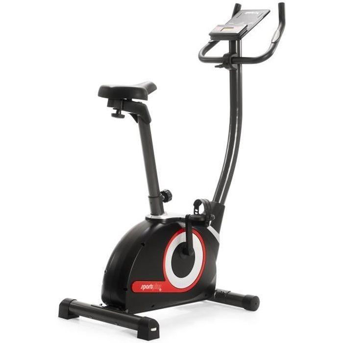 Vélo d'Appartement - SportPlus SP-HT-9510-iE, Ergomètre - Système de Freinage Magnétique - 24 niveaux de résistance