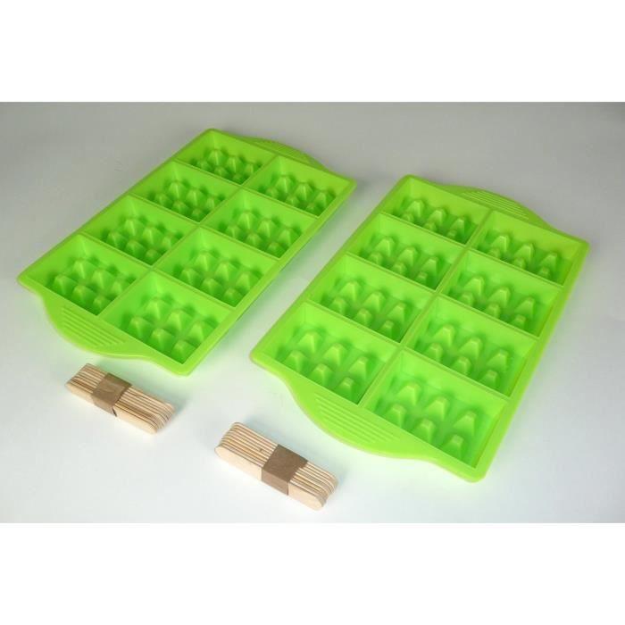 YOKO DESIGN Moule à mini gaufre pour party - Vert