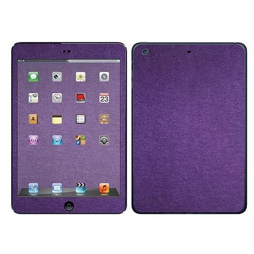 skin stickers pour apple ipad mini 2 sticker textile violet prix pas cher cdiscount. Black Bedroom Furniture Sets. Home Design Ideas