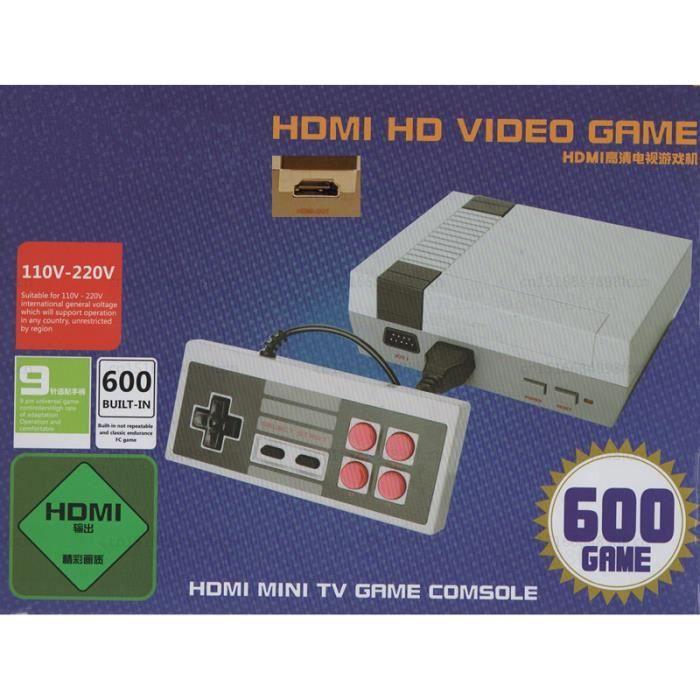 CONSOLE RÉTRO HDMI HD Video Game System NES Classic Mini TV Game