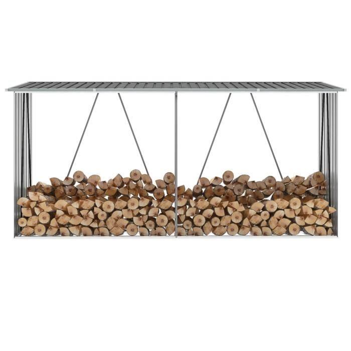 ABRI JARDIN - CHALET Abri de Stockage de Bois | Abri de Chauffage de Bo
