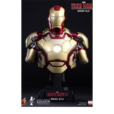 figurine iron man buste