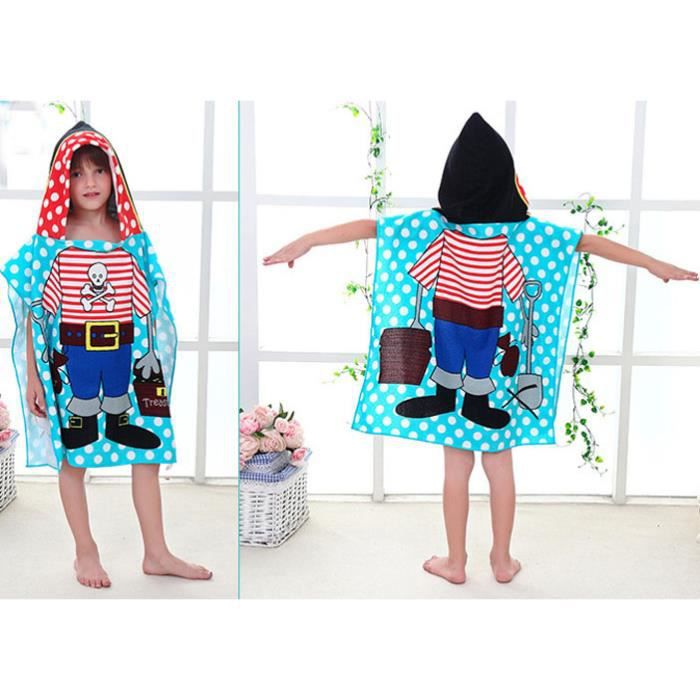 serviette de plage microfibre imprim pour enfant pyjama cape pochon sortie de bain b b piscine. Black Bedroom Furniture Sets. Home Design Ideas