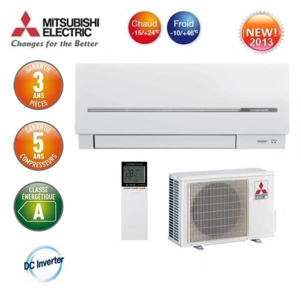Climatiseur inverter mitsubishi msz sf35ve achat vente for Climatiseur inverter mural