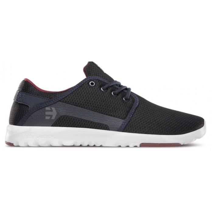 CHAUSSURES ETNIES SCOUT NAVY RED WHITE skateshoes