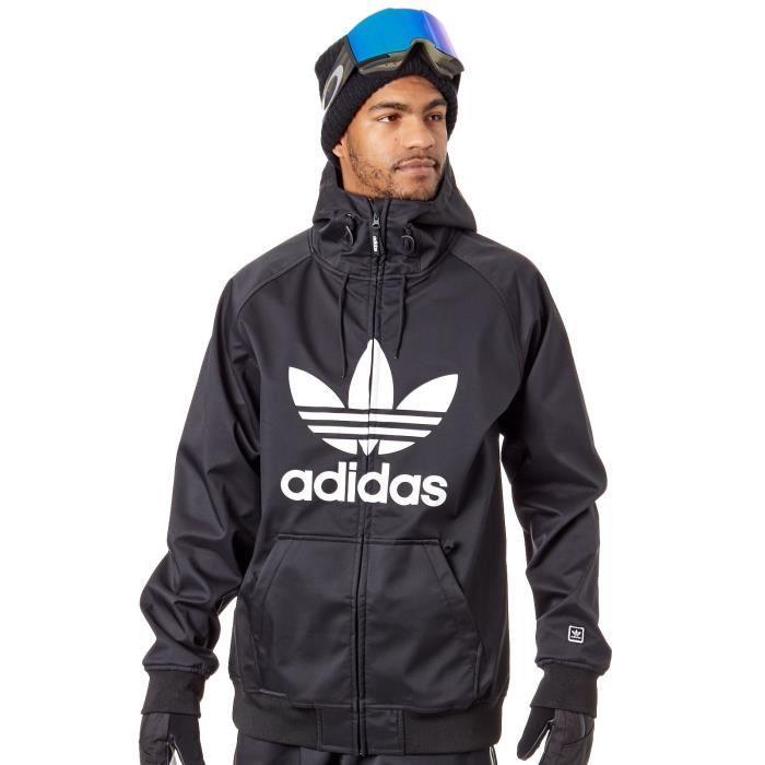 Veste Snowboard Adidas Greeley Soft Shell Noir Blanc Prix