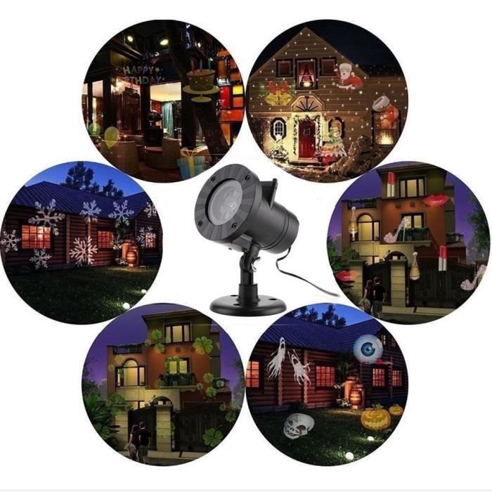 laser projecteur lampe lumiere pour noel fete led laser. Black Bedroom Furniture Sets. Home Design Ideas