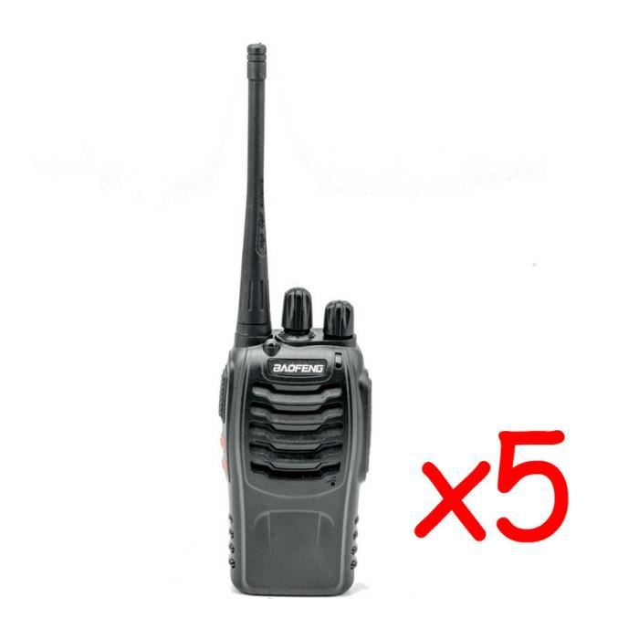 5x baofeng bf 888s talkie walkie uhf fm high illumination. Black Bedroom Furniture Sets. Home Design Ideas