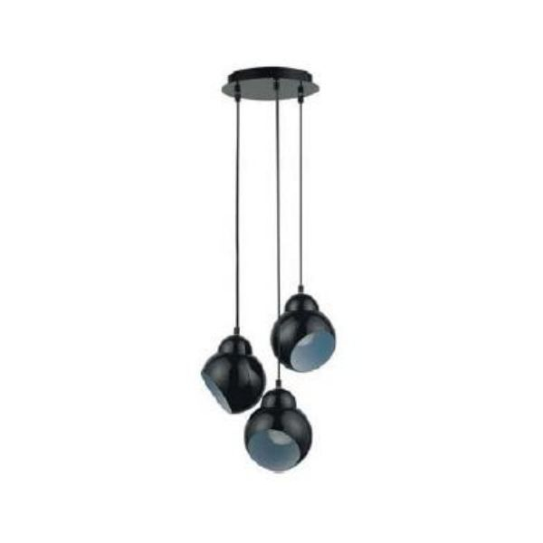 suspension 3 lampes stanley en metal achat vente suspension luminaire cdiscount. Black Bedroom Furniture Sets. Home Design Ideas