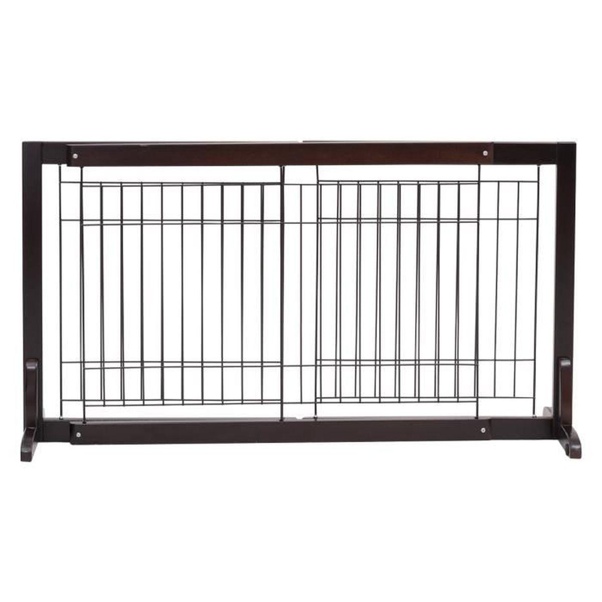 Escalier Modulaire Pas Cher costway barrière de sécurité grille protection modulable