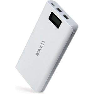 BATTERIE EXTERNE ROMOSS Sense 6 Plus Power Bank 20000mAh Indicateur