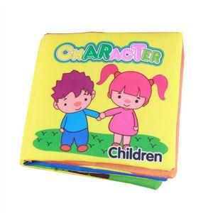 Livres En Tissu Doux Pour Bebe Livre En Premier Bebe Livre En Tissu Non Toxique Jouets Educatifs En Apprentissage Precoce Personnag