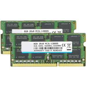 4GBx2 Unbuffered SODIMM 204-P DDR3//DDR3L 1600 MT//S Crucial 8GB Kit PC3-12800