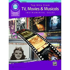 PARTITION Top Hits from TV, Movies & Musicals, Recueil + CD