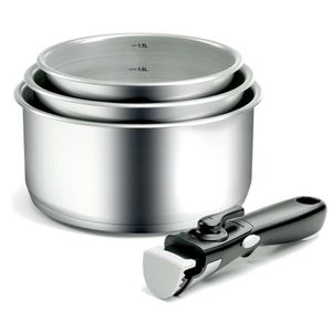 CASSOLETTE - TERRINE BACKEN Lot de 4 casseroles en inox