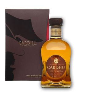WHISKY BOURBON SCOTCH Cardhu 21 ans 1991 54.2° 70cl