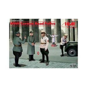 FIGURINE - PERSONNAGE Figurines maquettes German Road Police, 2ème GM