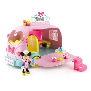 FIGURINE - PERSONNAGE MINNIE Camion Gourmand