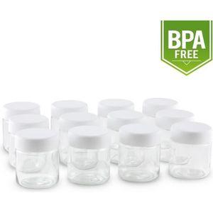 PIÈCE POUR FAIT-MAISON  Klarstein - Pots de remplacement en verre pour yao