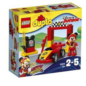 ASSEMBLAGE CONSTRUCTION Lego Disney Mickey construction Duplo Racer blocs