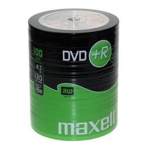CD - DVD VIERGE DVDR 4.7 16x Shrink 100 Sous