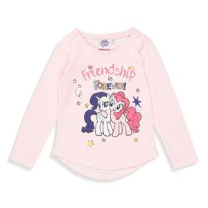 T-SHIRT MON PETIT PONEY T-shirt Licorne Rose Clair Enfant