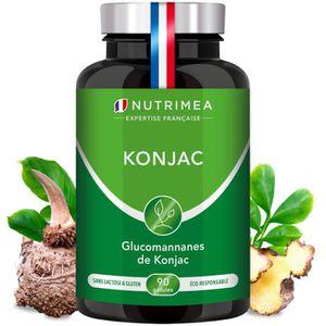 COMPLÉMENT MINCEUR PUR KONJAC • 640 mg à 95% de glucomannanes - gélul