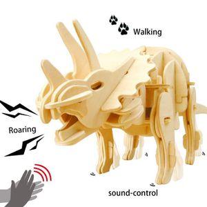 PUZZLE 3D Puzzle Jeu d'Assemblage Dinosaures Triceratops