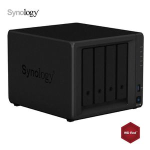 SERVEUR STOCKAGE - NAS  Synology DS918+ 8Go NAS 8To (4x 2To) WD Red
